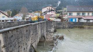 Eleanor: déjà un million de francs de dégâts dans le canton de Neuchâtel