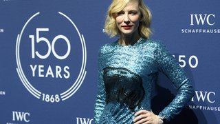 L'actrice Kate Blanchett, l'ex-footballeur Luis Figo, les stars se montrent au Salon de la haute horlogerie