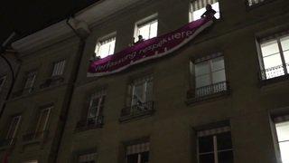 Berne: manifestation pour l'égalité salariale