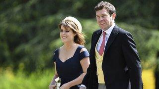 La princesse Eugénie, petite-fille d'Elizabeth II, se marie