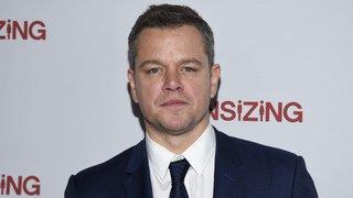 """Pétition: plus de 16'500 personnes souhaitent le retrait de Matt Damon du film """"Ocean's 8"""""""