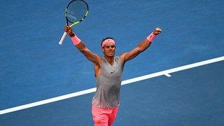Open d'Australie: Rafael Nadal ne lâche que 5 jeux en 16e de finale face à Dzumhur (ATP 30)
