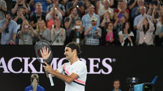 Open d'Australie: Roger Federer passe facilement le 3e tour face à Gasquet