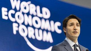 Forum économique mondial: Justin Trudeau lance un plaidoyer pour l'emploi féminin