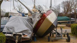 Des bateaux ont basculé
