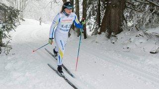 Sprint victorieux pour  Solène Faivre à Campra
