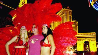 Las Vegas sort le grand jeu