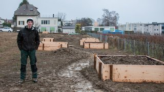 Jardin communautaire Demain 2520: travaux lancés