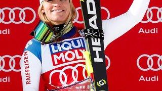 Lara Gut est de retour au sommet du podium