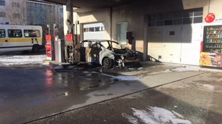 La victime dans la voiture en feu était un Breulotier