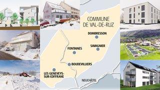 Immobilier au Val-de-Ruz: ce que le boum rapporte à la commune