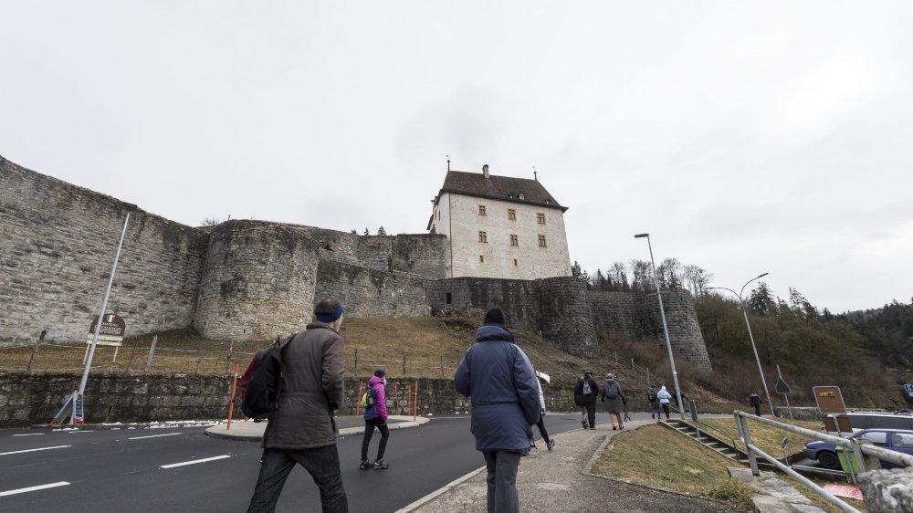 Si le 1er Mars, le château de Valangin accueillera comme prévu les marcheurs, (photo en 2017), l'ouverture du musée est menacée pour le reste de l'année.