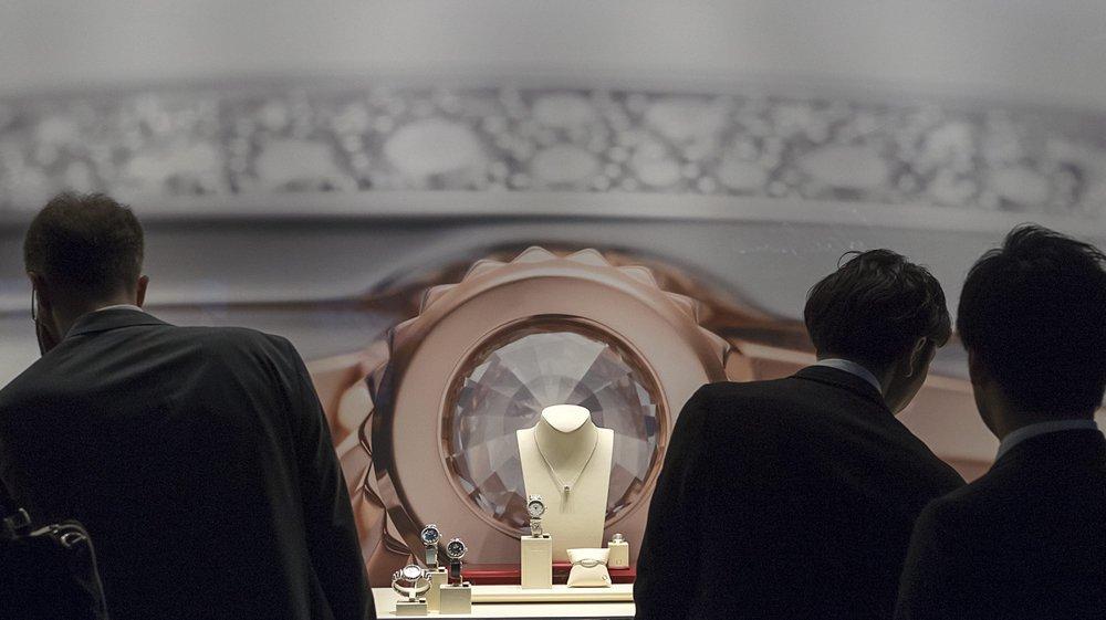 Les résultats du Swatch Group, notamment de la marque Omega, influencent positivement celui de tout la branche horlogère suisse.