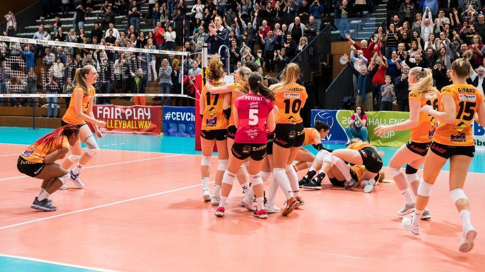 Après l'exploit réalisé face à Las Palmas, les filles du NUC ont la possibilité d'atteindre pour la première fois les demi-finales en Coupe d'Europe.