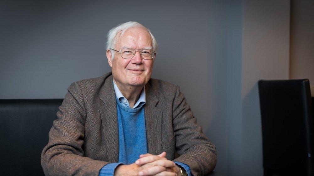 Portrait de Hugo Wyss.    Neuchatel, le 15 fevrier 2018  Photo : Lucas Vuitel