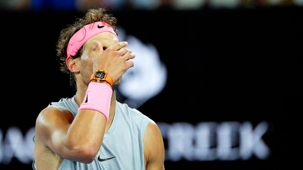 Poussé dans ses derniers retranchements par Marin Cilic, Rafael Nadal a été «trahi» par sa cuisse droite et ne verra pas le dernier carré de l'Open d'Australie.