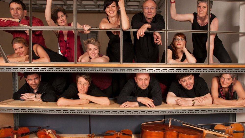 Monteverdi et Praetorius sur instruments anciens
