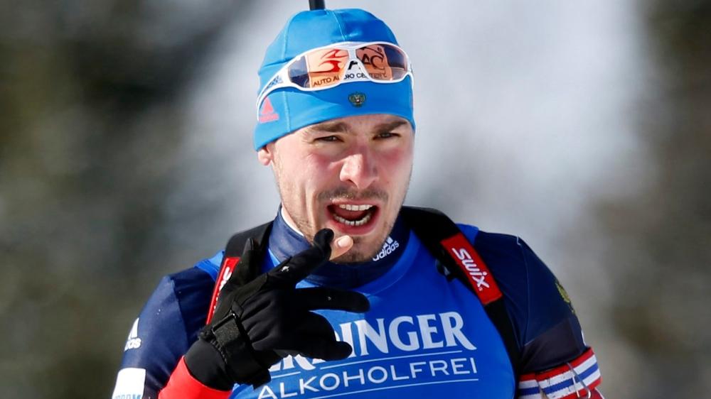 Le biathlète Andrei Shipulin a été exclu, pour souçons de dopage, de la liste des 169 Russes retenus pour les JO.