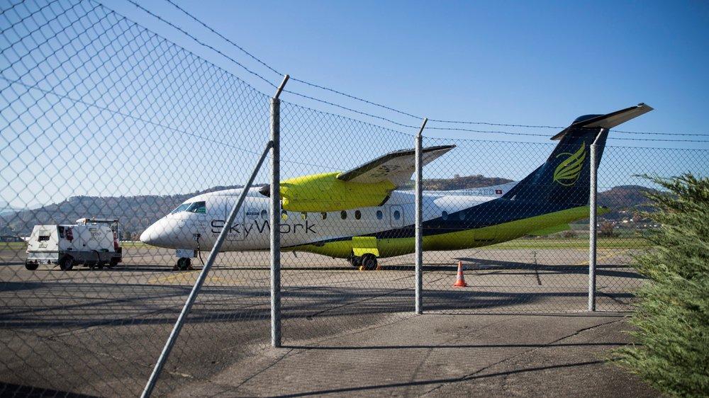 Selon l'Office des faillites de Lugano, la compagnie bernoise Skywork Airlines a manifesté de l'intérêt  pour les avions - six Saab 2000–de Darwin Airlines.