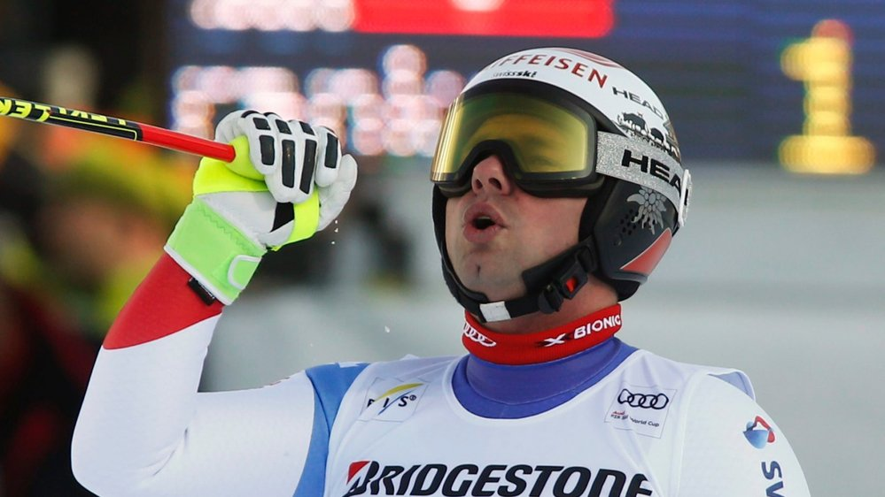 Beat Feuz se profile en favori de la descente olympique.