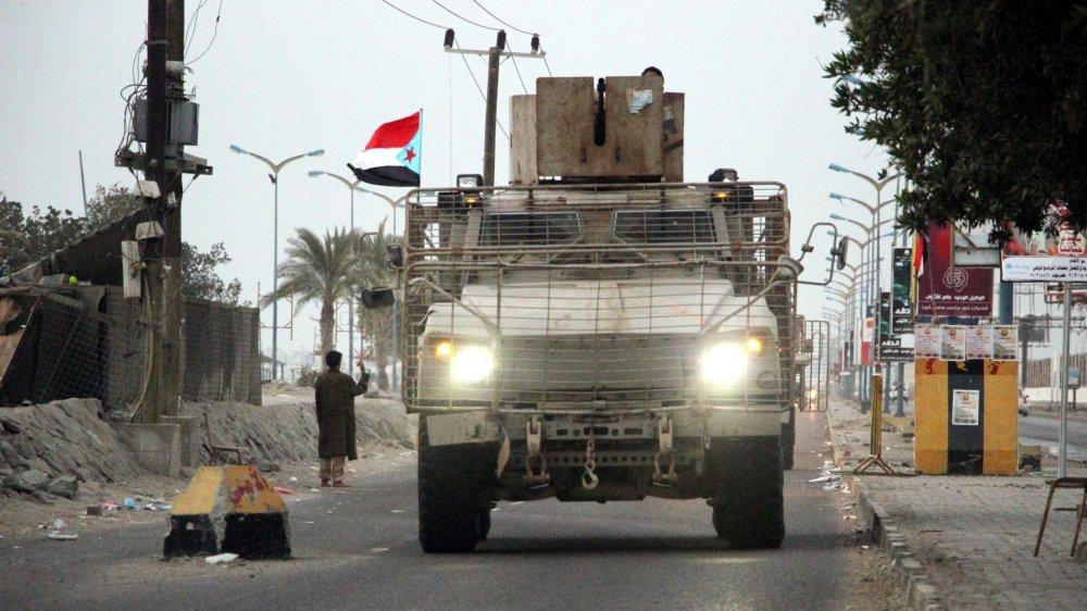 Des forces séparatistes à Aden.