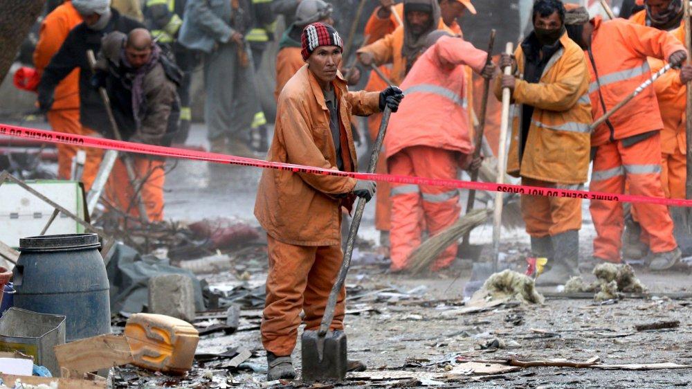 L'attaque à la bombe de samedi a tué plus d'une centaine de personnes.