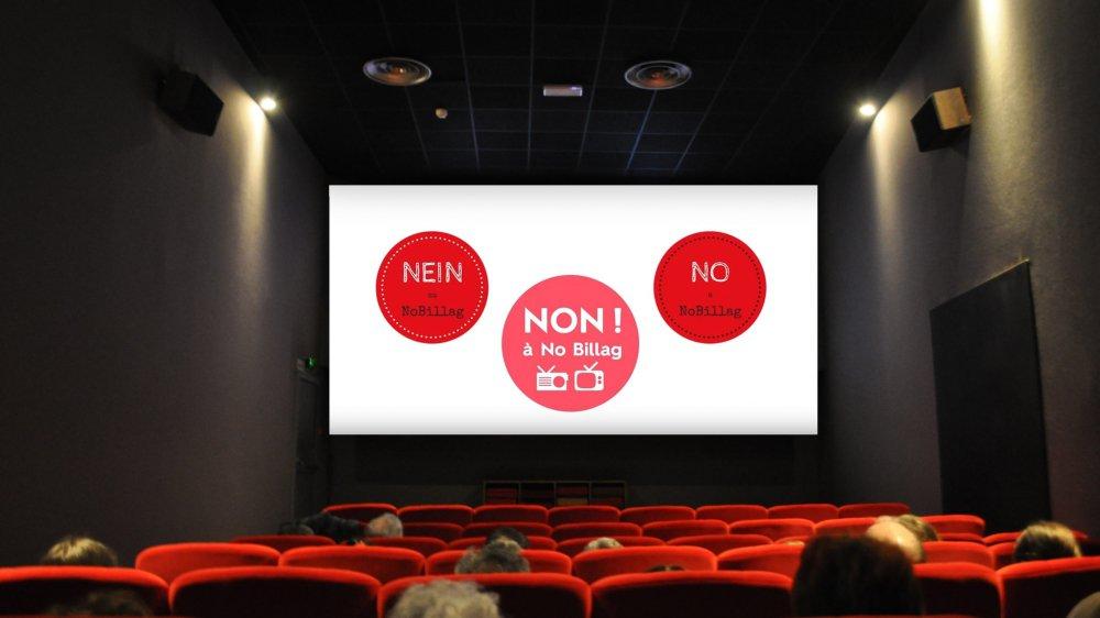 Les exploitants de salles sont nombreux à avoir accepté de projeter des spots contre l'initiative «No Billag» avant les films.