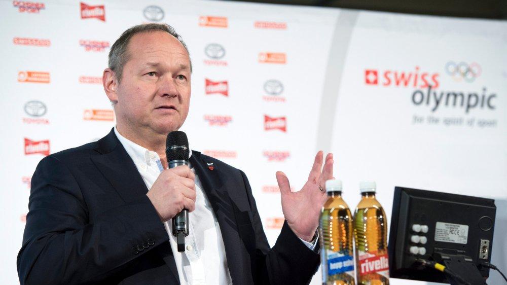 Le président de Swiss Olympic, Jürg Stahl, est impatient que les Jeux de PyeongChang commencent.