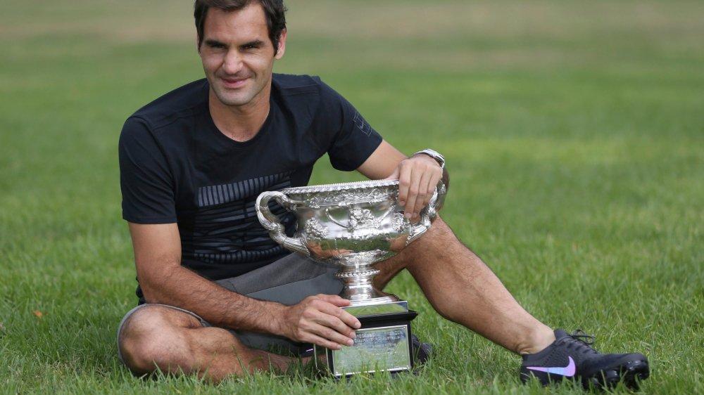 Pour Roger Federer remporter  son 20e titre est «un peu irréel»