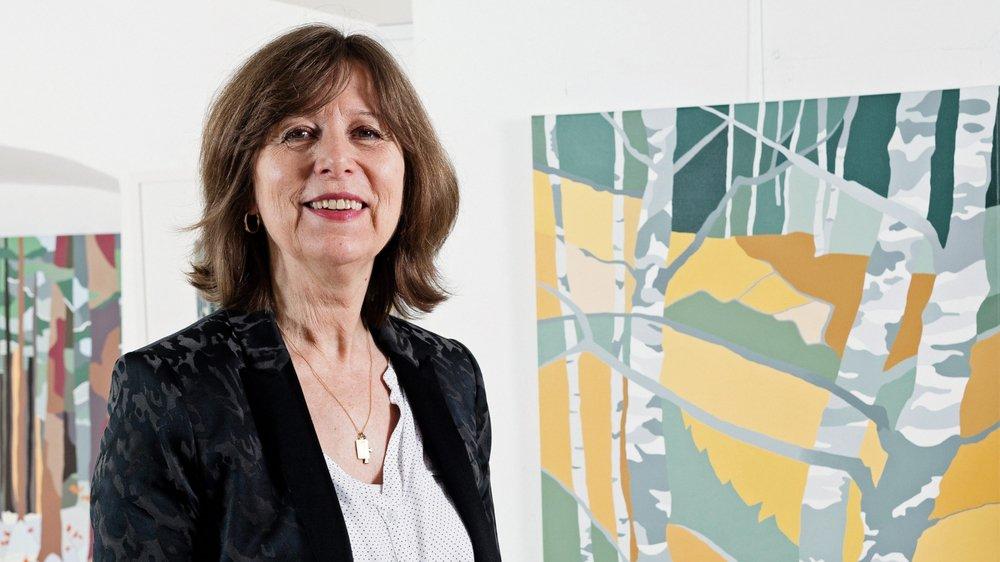 Françoise Vetterli Charbaut, artiste peintre et galeriste.