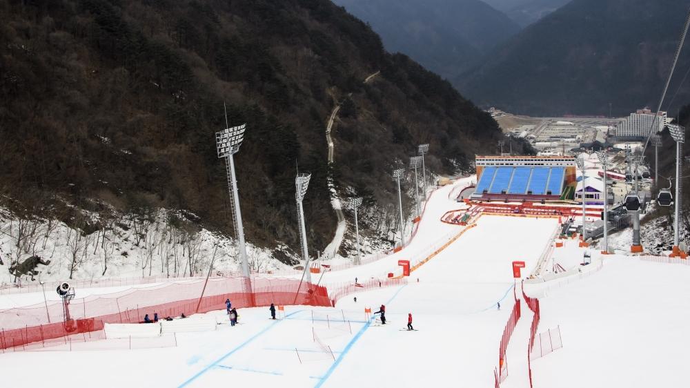 Jugée trop facile, la piste de Jeongson fait tout sauf l'unanimité parmi les meilleurs descendeurs de la planète.