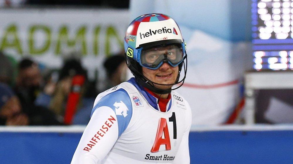 Luca Aerni, un des premiers atouts helvétiques en ski alpin.