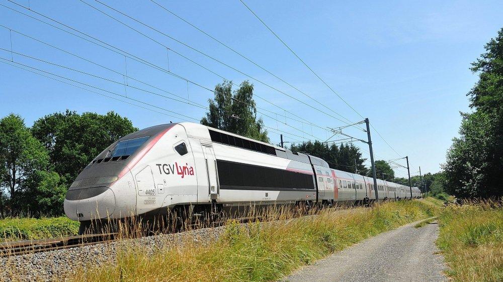 Environ 130  000 passagers, au total, profitent de la desserte TGV  de Frasne.