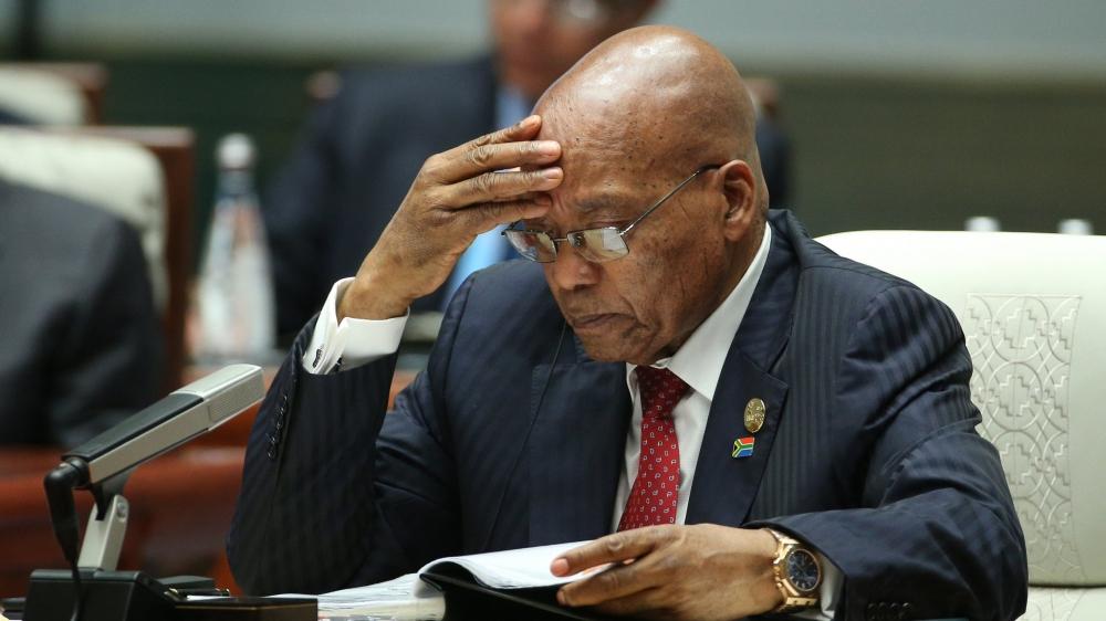 Afrique du Sud: le baroud d'honneur de Jacob Zuma