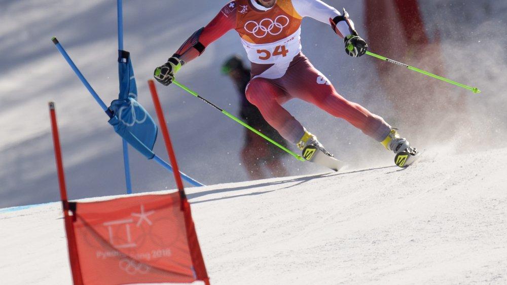 Luca Aerni, l'un des quatre Suisses capables de briller en slalom demain.