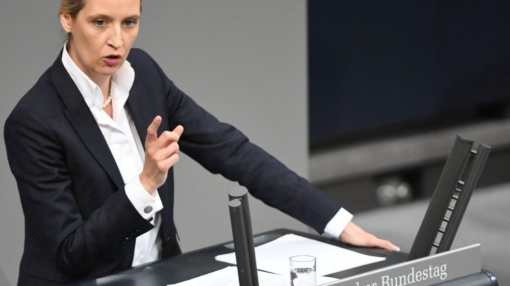 Le week-end dernier, Alice Weibel s'en est prise a u journaliste germano-turc Deniz Yücel, l'estimant «ni journaliste, ni allemand».