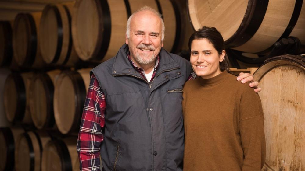 Elodie et son père Jean-Pierre Kuntzer