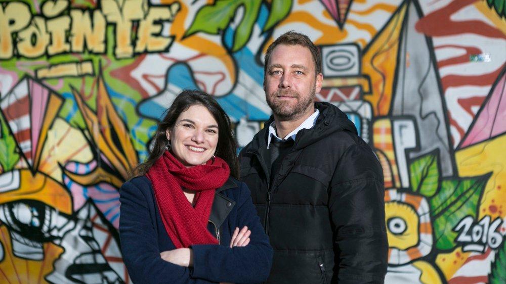 Un tournus régulier s'opère à la rédaction en chef, tous les trois ans. Ici Laura Drompt et Gustavo Kuhn, actuels corédactrice et corédacteur en chef du journal.