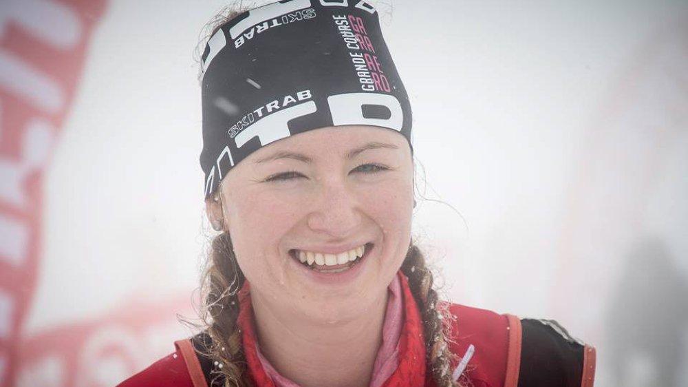 Marianne Fatton avait le sourire, malgré les conditions difficiles.
