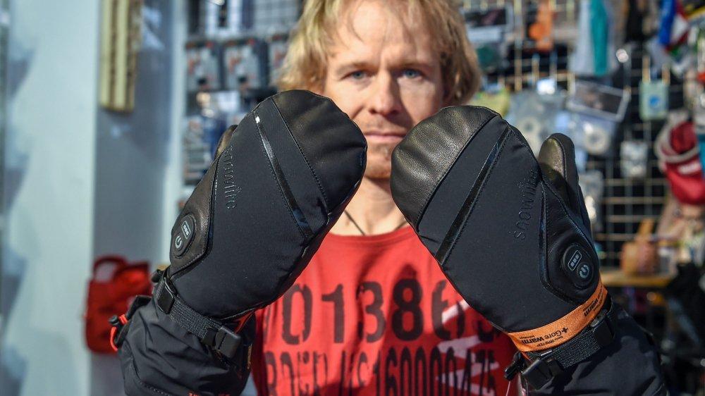 Chez Défi Montagne, à Peseux, les gants chauffants ont la cote.