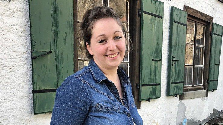 """Léa Candaux Estevez, initiatrice du """"mois sans supermarché""""."""