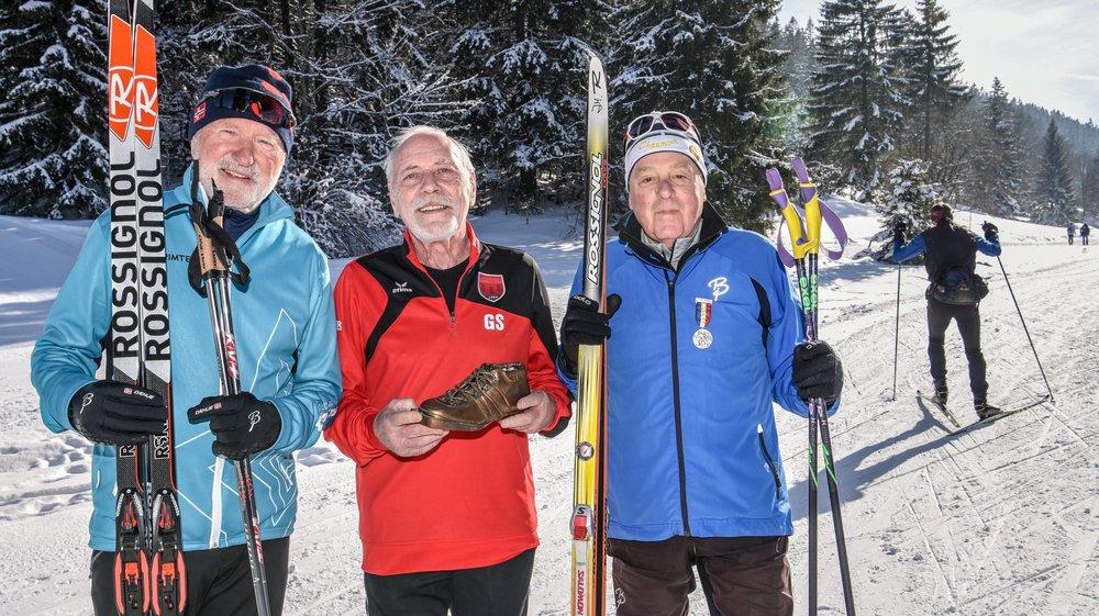 Jean Mägerli, Gérard Schertenleib et Jean-Michel Richard: les trois derniers rescapés de l'aventure.