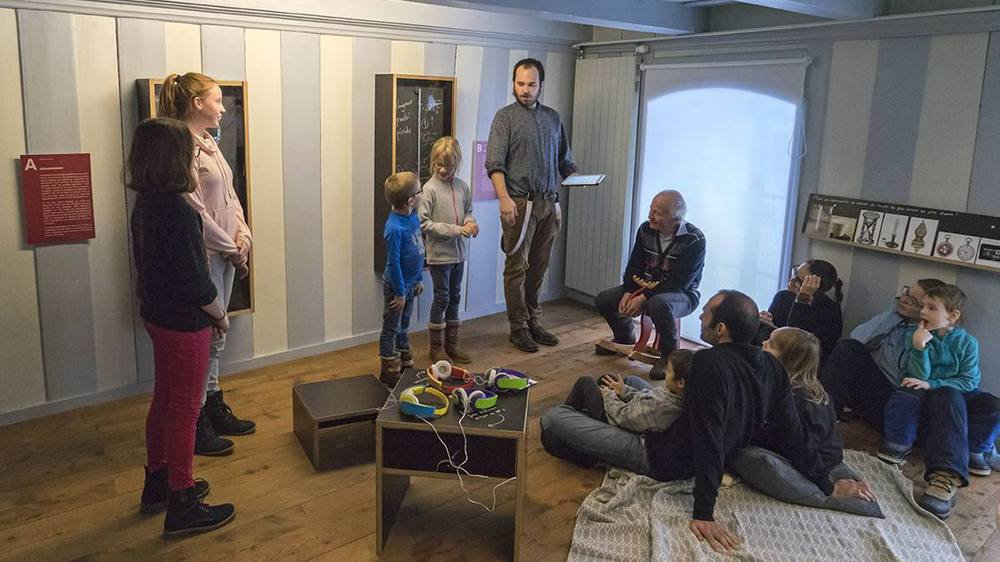 L'exposition «Trois siècles d'histoire horlogère au Val-de-Travers» se visite à tout âge.