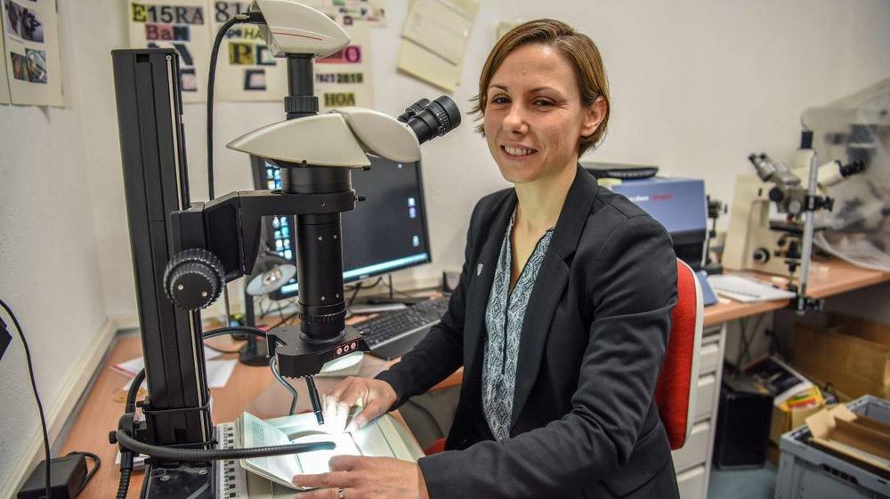Nathalie Sester Joliat est la nouvelle chef de la police scientifique neuchâteloise.