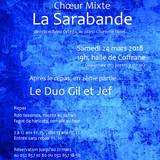Concert du Choeur Mixte La Sarabande