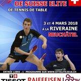 Championnats Suisses Elite de Tennis de Table