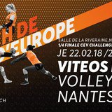 Coupe d'Europe volleyball: VITEOS NUC - NANTES