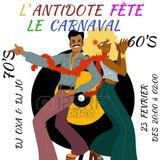 Soirée 90's - l'Antidote fête carnaval!