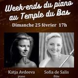 Duo Flûte/Piano en faveur des Bénévoles en ville