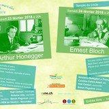 Musique de chambre au Locle - Arthur Honegger